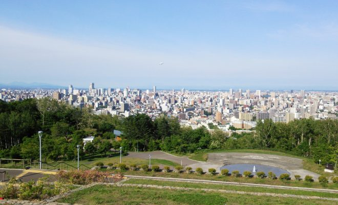 旭山記念公園飛行船