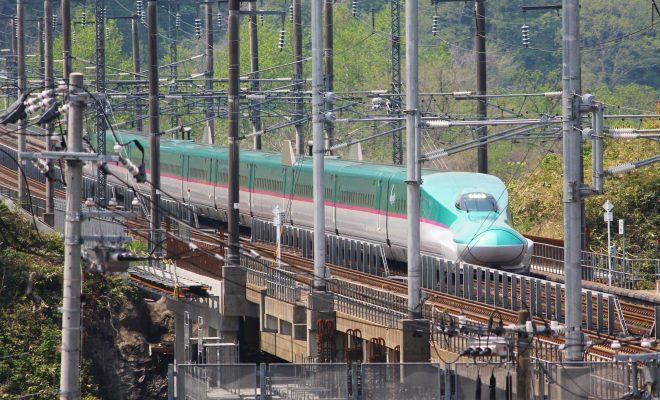 北海道新幹線(展望室より)
