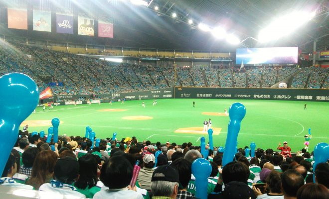 ファイターズ札幌ドーム試合