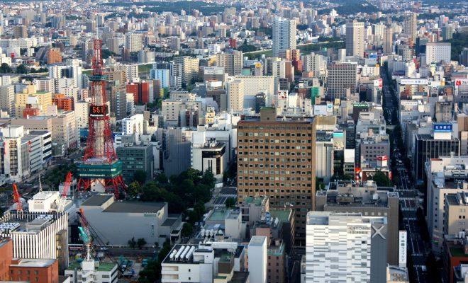 札幌市街地展望