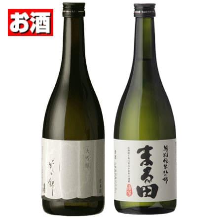 北の錦|大吟醸 暖簾ラベル&特別純米 まる田(720ml×2本・箱付)