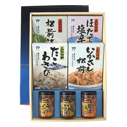 函館 竹田食品|北の玉手箱D(7点セット)